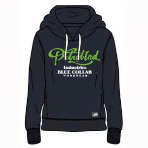 SWEATER HOODED logo